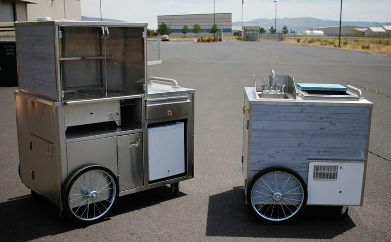 portable push food cart manufacturer