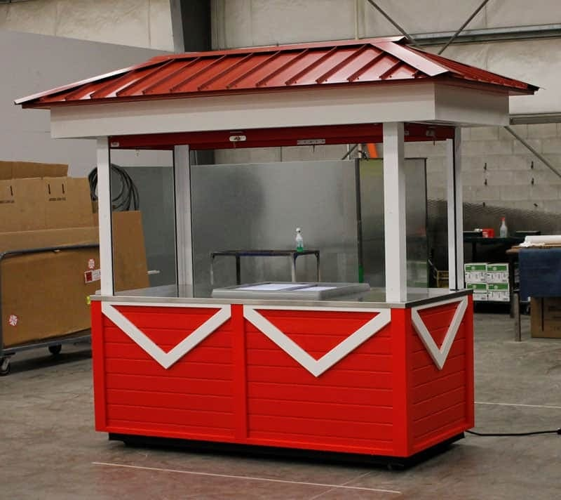 custom ice cream cart