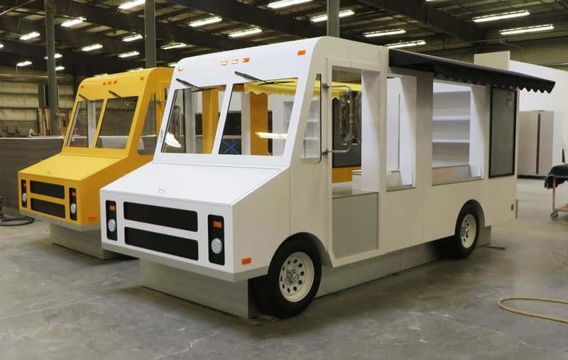 food truck kiosk builder