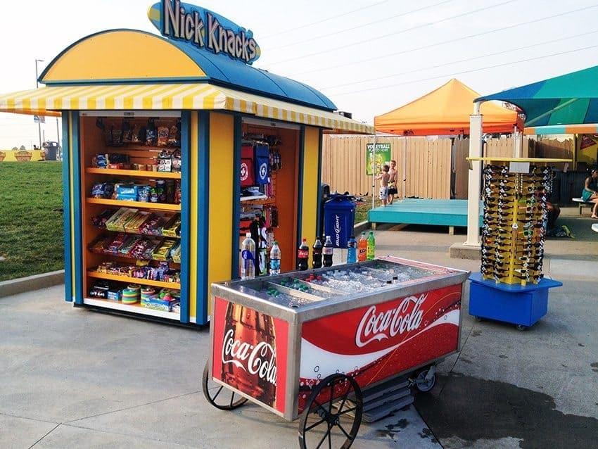 retail merchandiser kiosk