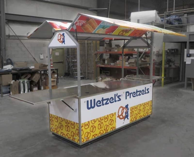 custom food cart builder