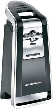 3. Hamilton Beach (76606ZA) Smooth Touch Electric Automatic Can Opener