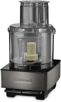 1. Cuisinart Custom 14 Cup Food Processor, Black