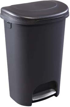 9. Rubbermaid NEW 2019 VERSION Step-On Lid Trash Can