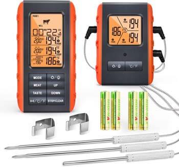 10. VAUNO Wireless Digital Meat Thermometer