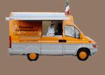de mobiele pizzabakker