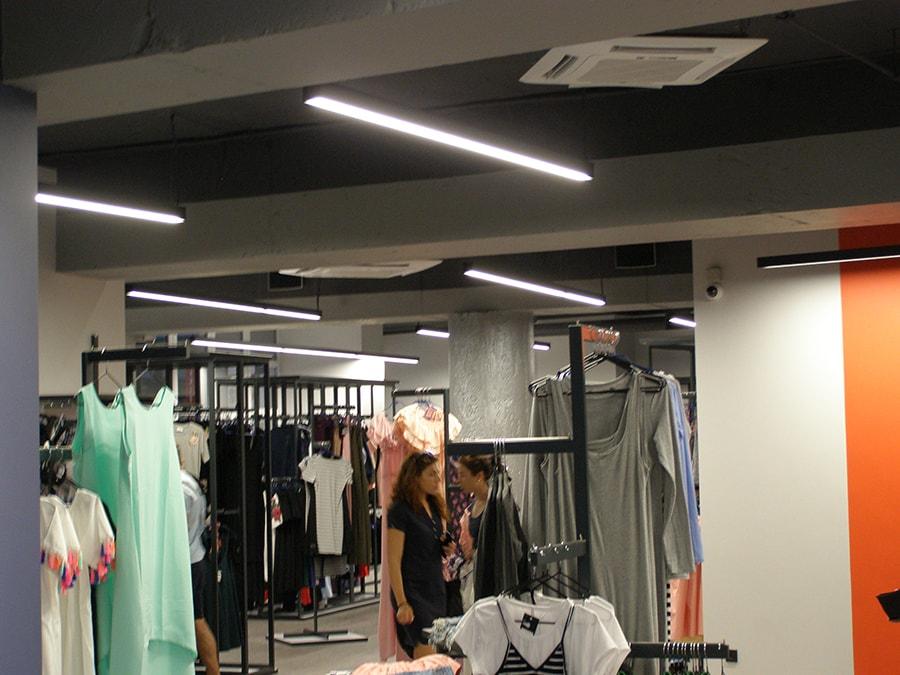 освещение для магазинов