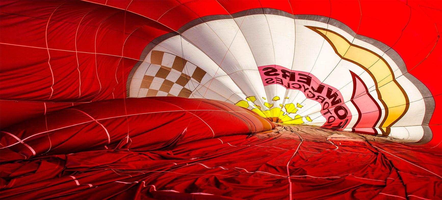 Полет с топловъздушен балон над София и Бистрица