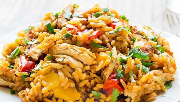 Instant Pot Chicken Rice Recipe