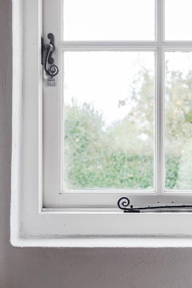 Interieurfotografie detail raam woonboerderij