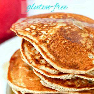 Gluten-Free Apple Cinnamon Buckwheat Pancakes