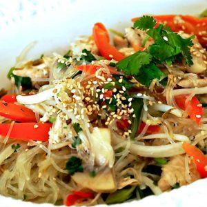 Super Easy Chicken Pad Thai