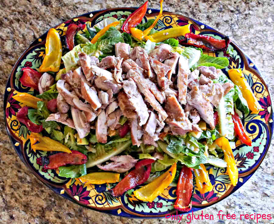Winter Salad with Maple Ginger Chicken