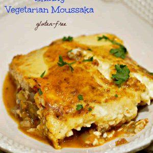 Gluten-Free Skinny Vegetarian Moussaka