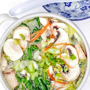 Vegetables in Clear Broth Hot Pot