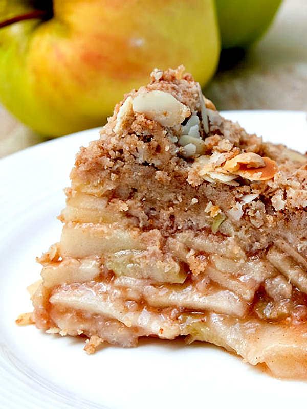 Gluten-Free Crust Free Apple Pie