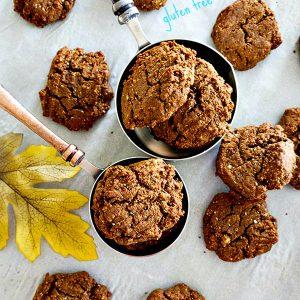 Gluten Free Classic Soft Molasses Cookies