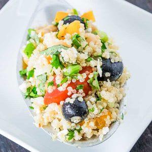Easy Greek Quinoa Salad