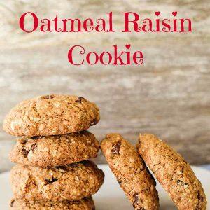Award Winning Gluten-Free Oatmeal Raisin Cookies