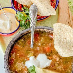 Classic Chicken Tortilla Soup