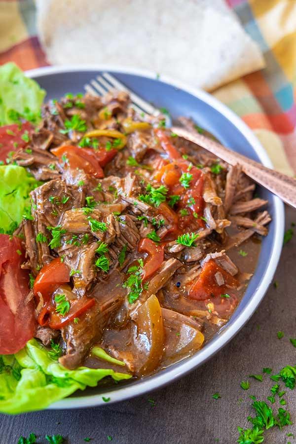 Instant Pot Barbacoa Beef Recipe