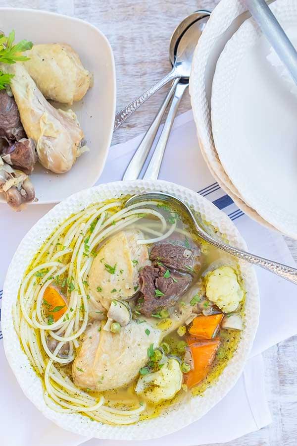 Instant Pot Ujhazi Chicken Soup