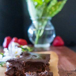 Gluten-Free Chocolate Coffee Brownies