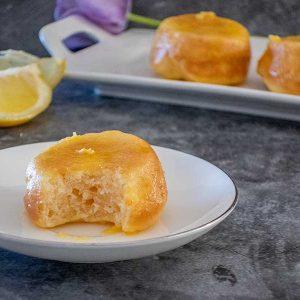 Gluten-Free Mini Lemon Cakes
