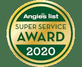 Angies List 2020 Super Service Award for Garage Door Repair