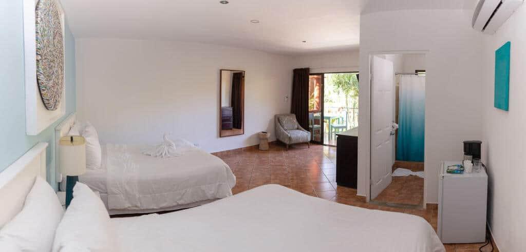 Deluxe hotel room in Playa Grande