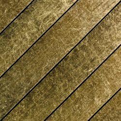 Damascus  (antique polished black gold)