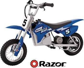 2. Razor MX350 Dirt Rocket Electric Motocross Off-road Bike