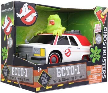 3. NKOK Ghostbusters Animated B/O Ecto1 with Slimer B/O 1, Ghost Catcher