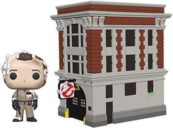 10. Funko Pop! Town. Ghostbusters - Peter with House