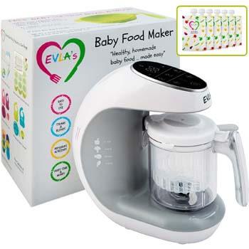 1. Baby Food Processor Blender, Grinder, and Steamer