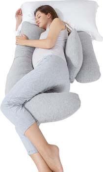 2. Bedsure Pregnancy Body Pillow,Maternity Pillow for Pregnant
