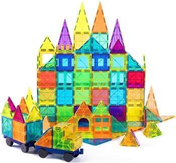 5. cossy Kids Magnet Toys Magnet Building Tiles