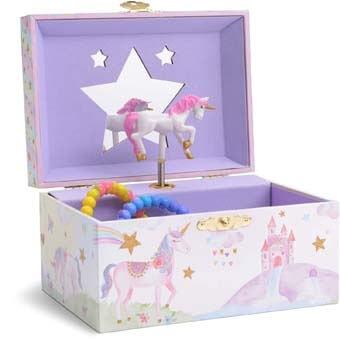 9. Jewelkeeper Girl's Musical Jewelry Storage Box