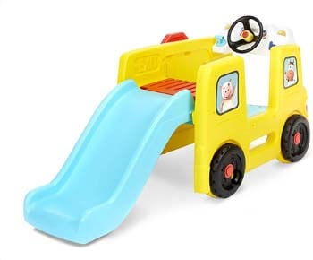 1. Little Tikes Little Baby Bum Wheels on The Bus Climber and Slide