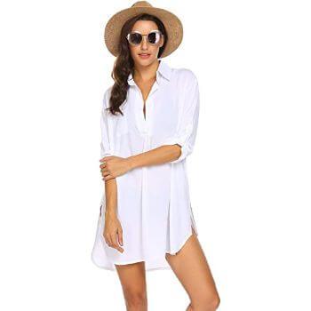 4. Ekouaer Beach Cover Up Skirt