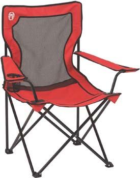 4: Coleman Broadband Mesh Quad Camping Chair