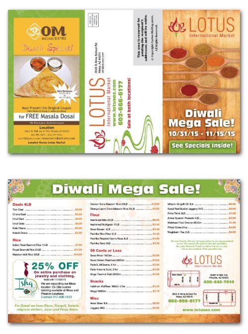 Local Market Brochure Marketing