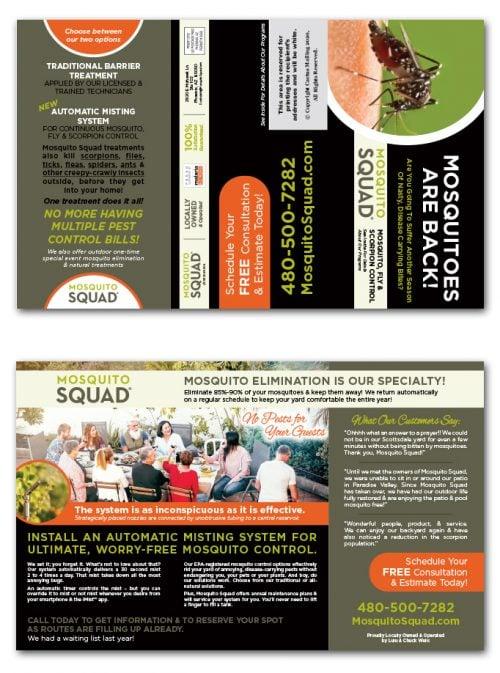 Pest Control Brochure Marketing