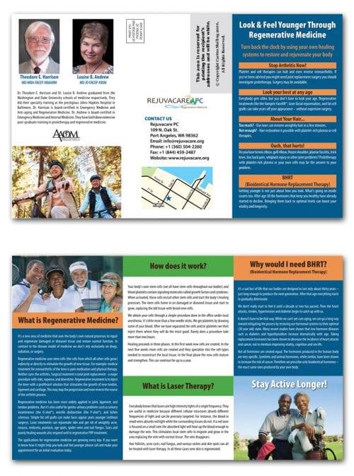Medical Office Brochure Marketing