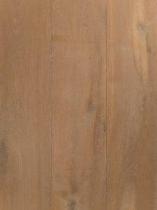 Wit verouderde vloer van hoge kwaliteit eiken hout.
