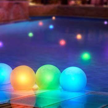 8: Set of 12 Mood Light Glow Balls