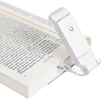 6: DEWENWILS USB Rechargeable Book Reading Light