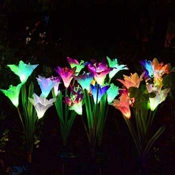 5: Wohome Outdoor Solar Garden Stake Lights