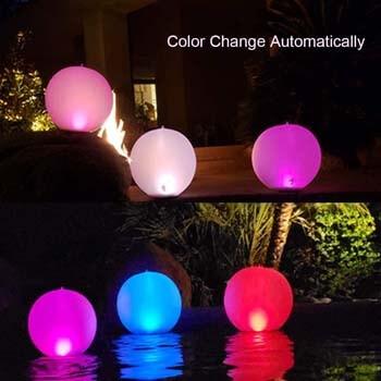 1: Esuper Floating Ball Pool Light