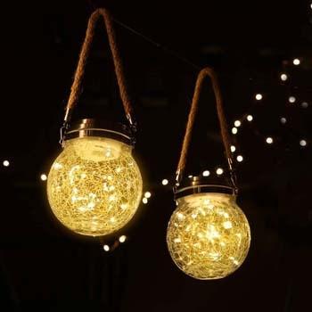5: ROSHWEY Hanging Solar Lights